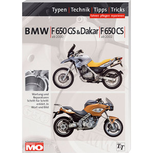 BMW Handbuch F 650 GS-CS Fahren- pflegen- reparieren Text und Technik Verlag