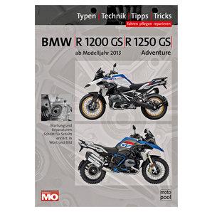BMW Handbuch R 1200 GS - 1250 Fahren- pflegen- reparieren Text und Technik Verlag