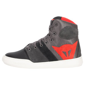 Dainese York Air Stiefel Grau Rot