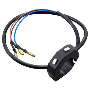 Daytona Schaltereinheit für Velona Instrumente schwarz Corporation