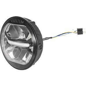 gazzini LED-Scheinwerfer 170mm- schwarz