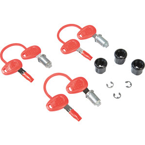 GIVI Ersatzschloss 3er-Set inkl- 2 Schlüssel Givi