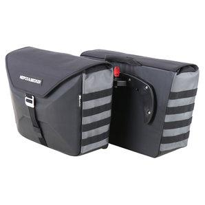 H+B Seitentasche XTravel schwarz für C-Bow System Hepco und Becker