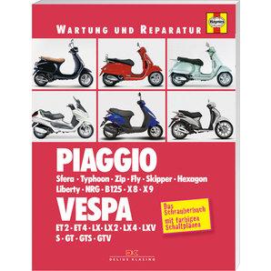 Haynes Wartung und Reparatur Piaggio Vespa- Bj- 91-09
