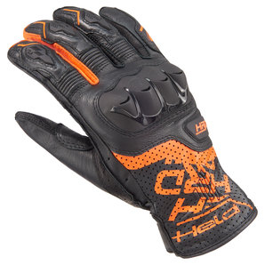 Held 21912 Louis Edition Handschuhe Schwarz Orange
