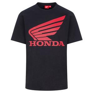 Honda T-Shirt Wing Schwarz HRC