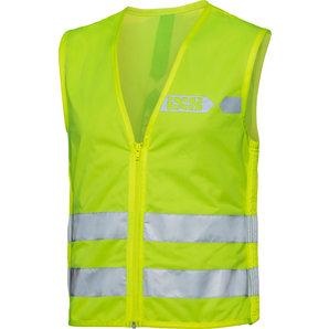 IXS Sicherheitsweste Neon 3-0 Gelb Silber