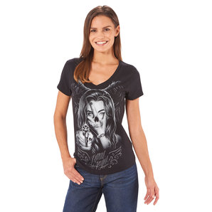Lethal Angel Hand of Doom Damen T-Shirt Schwarz