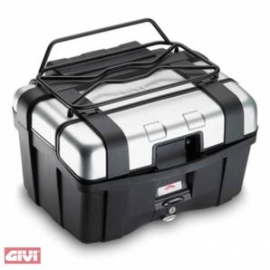 Metall-Gepäckgitter für Givi Trekker 33-44- Schwarz