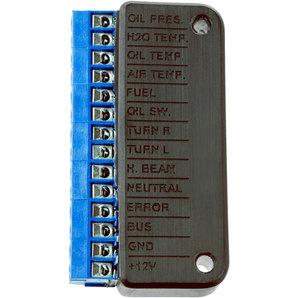 motogadget Anschluss-Box B für Kontrolllampen und Temperatur