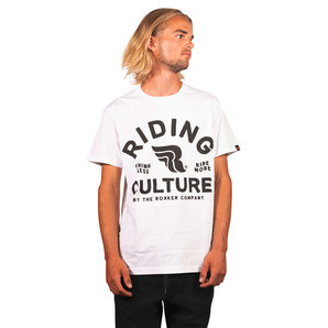 Riding Culture Ride More T-Shirt Weiss