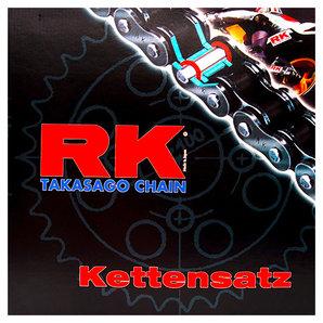 RK Kettensätze mit farbigen Ketten Kette- Ritzel- Kettenrad