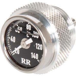 RR-Öltemperatur-Direktanzeiger für viele Fahrzeuge- Zifferblatt schwarz RR