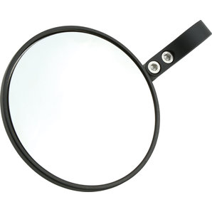 SHIN YO Lenkerendenspiegel PONZA schwarz- rund- Stück Shin-Yo