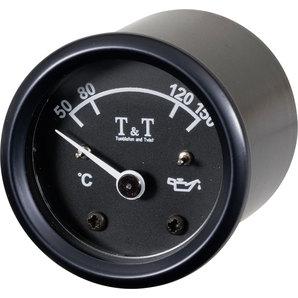 TundT Öltemperatur-Anzeige 48mm- elektronisch- schwarz Tumbleton and Twist